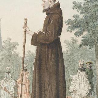 위베르 신부, 카푸생