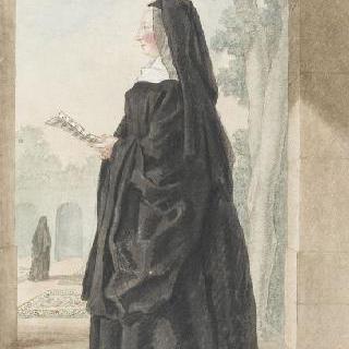 몽루이 부인, 빌레 코트레의 성 레미 수녀원의 수녀