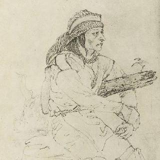 미시시피 강변의 프티만의 인디언 (1830년 4월 16일)