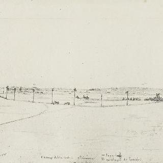 뱅센 숲에서의 말들의 경주 (1833년 11월 1일)