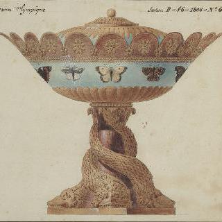 올림픽 제전용의 설탕 그릇 장식과 형태 계획안