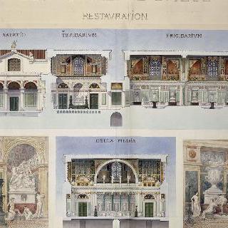 루테티아 온천과 클루니 호텔의 복원, 도판 11 (복원)