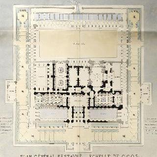 루테티아 온천과 클루니 호텔의 복원, 도판 7 - 복원된 도면