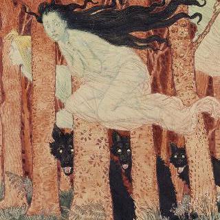세 여인과 세 마리의 늑대