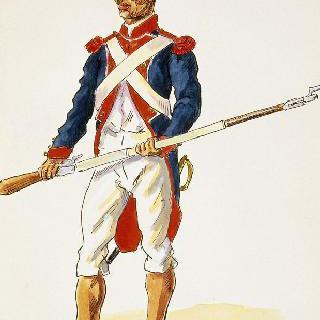 검은 부대, 프랑스 군대로 전환된 옛 식민지 군대 반 여단