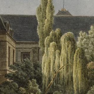 퐁텐블로 성의 트리니테 예배당의 일부분 정경