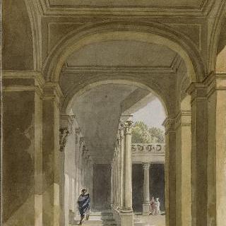 퐁텐블로 성의 세를리오 주랑