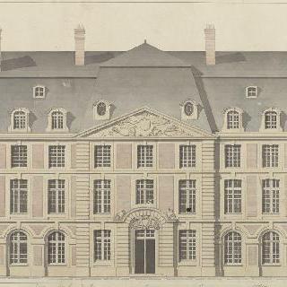 퐁텐블로 궁 연구 : 슈발 블랑의 안뜰