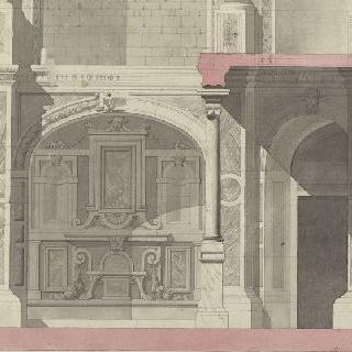 퐁텐블로 궁 연구 : 성사튀르냉 예배당