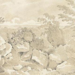 퐁텐블로 성과 숲, 도시, 근교에 대한 50개의 데생 앨범