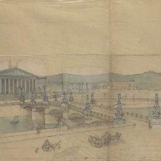 파리, 콩코드 다리와 부르봉 왕궁