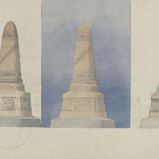파리 수호의 기념물 계획안