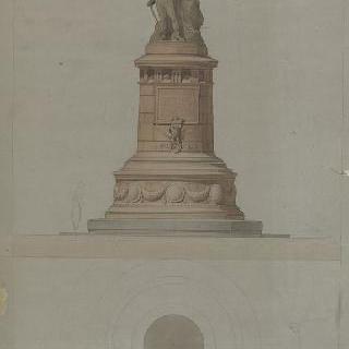 1814년 파리 수호의 기념물 습작