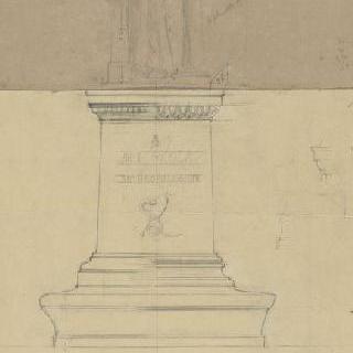 의과대학 광장의 J.M. 브로카 동상 건립을 위한 콩쿠르