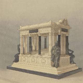 드 라모르시에르 장군의 묘 (낭트 대성당)