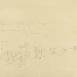 멜로즈 찻집 : 긴 의자의 벨벳 위의 날염