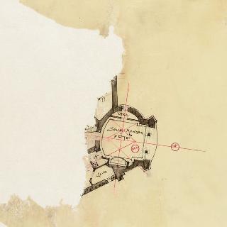 카스텔 크라온, 가르슈의 아우스트 부인의 대저택, 지하 도면