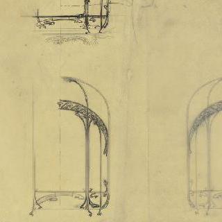 트인 공간 크로키, 기둥과 주조로 된 아치 습작