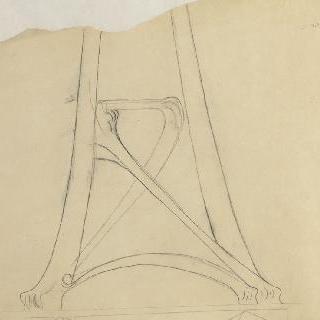세 개의 다리 달린 탁자 이미지