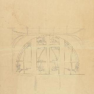 카스텔 베랑제르 : 기마르 아틀리에의 창문의 스테인드 글라스