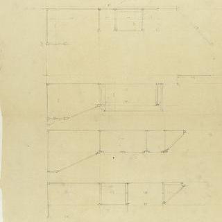 카스텔 베랑제르 : 문이 달린 가구와 응접실의 선반