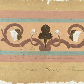 로스제 저택 : 베란다의 도예판