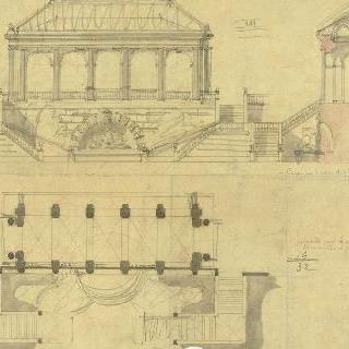 정원의 계단 계획안