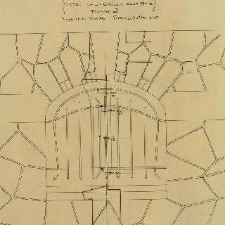노잘씨의 대저택, 뚫린 공간의 격자, J 정면, 입면도와 단면도