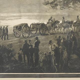 치즐허스트가는 길. 1879년 7월 금요일 저녁