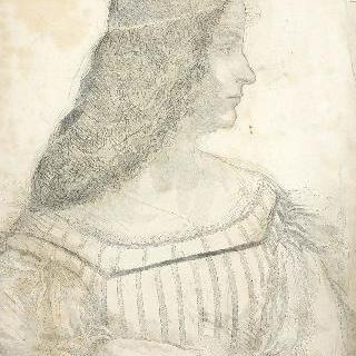 레오나르도 다빈치풍의 이사벨 데스트의 초상