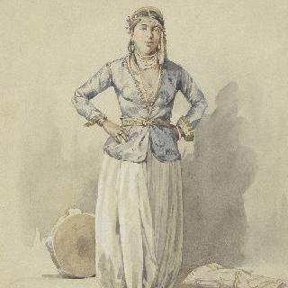 알제리의 무어 여자