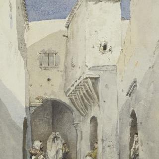 알제리 근위보병들의 거리
