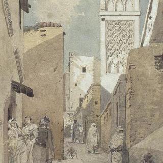 알제리의 시디 람담 거리