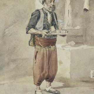 아랍인 카페 주인