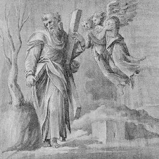 두 천사를 동반한 책과 십자가를 든 성 안드레아