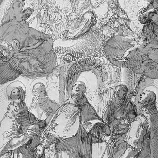 성자들에게 나타난 그리스도와 복자들