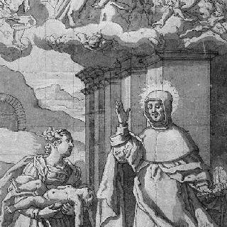아이를 되살린 성 루이 베르트랑