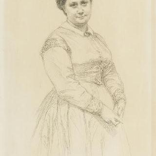 샤를 푸크 뒤파르크 부인의 초상, 아튀르 푸크 뒤파르크씨의 어머니