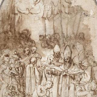 콘스탄틴의 세계, 또한 왕을 세례하는 주교라고도 불린다