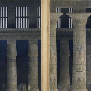 이집트 카르나크 사원의 다주실
