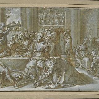 시몬 댁에서의 식사 : 그리스도의 도유식과 바리새인