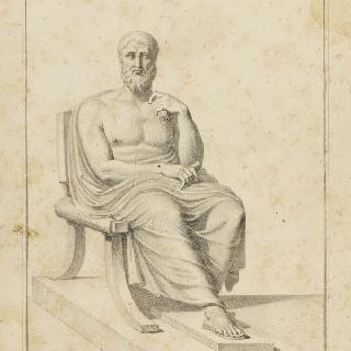 앉아 있는 철학자
