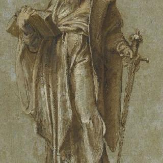 검과 책을 들고 있는 성 바오르
