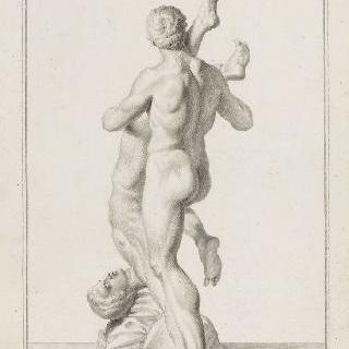 두 격투사, 안테를 죽이는 헤라클레스