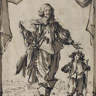 로랭 클로드 데르베 화가의 초상