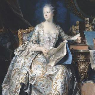 퐁파두르 후작부인의 초상