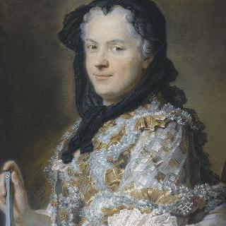 마리 레친스카의 초상 (1703-1768), 프랑스 왕비, 루이 15세의 부인
