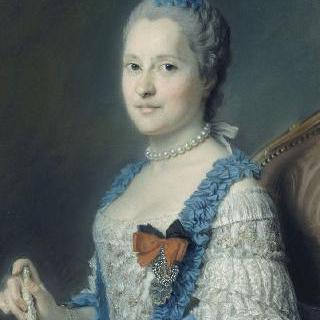 마리 조제프 드 작센의 초상, 프랑스 황태녀