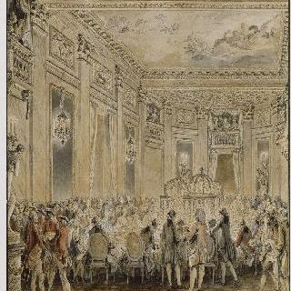1771년 9월 2일 루브시엔에서의 축제