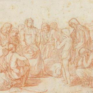 요셉의 형제들의 가방에서 찾아낸 파라오의 반구형 바구니